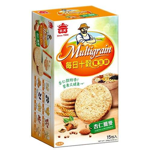 義美每日十穀養生餅-杏仁蕎麥【愛買】