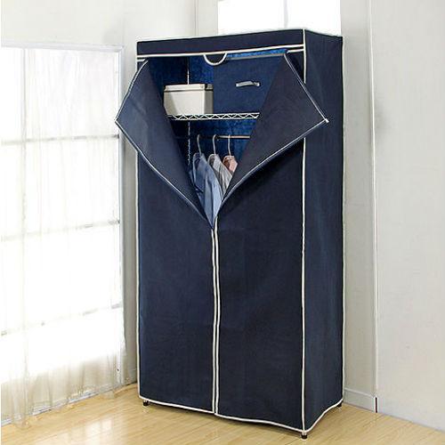 中型衣櫥+布套(90*45*180cm)【愛買】