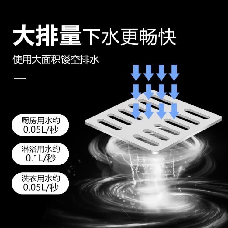 地漏防臭器硅膠內芯衛生間洗衣機雙用下水道不銹鋼密封圈浴室神器