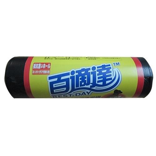 【2件超值組】百適達黑色垃圾袋XL(80*90cm)【愛買】