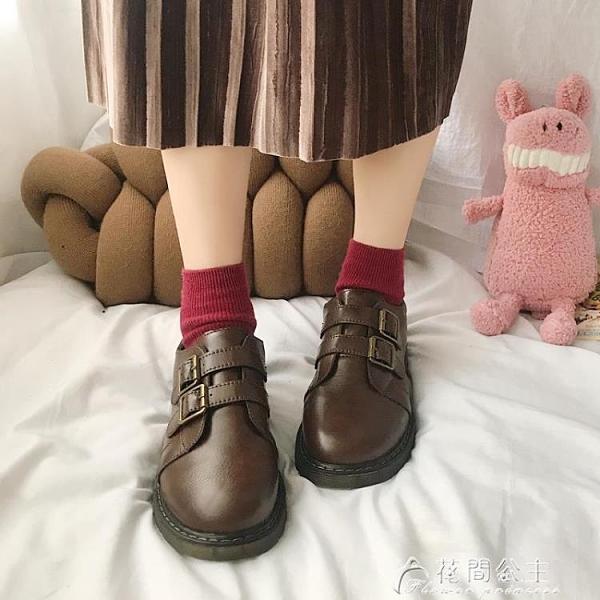皮鞋牛津鞋新款秋冬季復古學生小皮鞋女英倫風網紅超火韓版百搭潮鞋 快速出貨