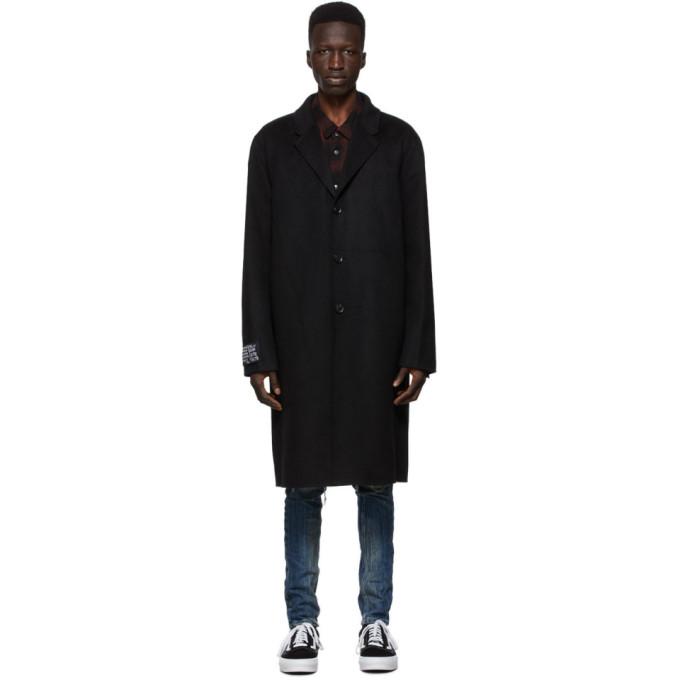 Ksubi 黑色 Mogul 大衣