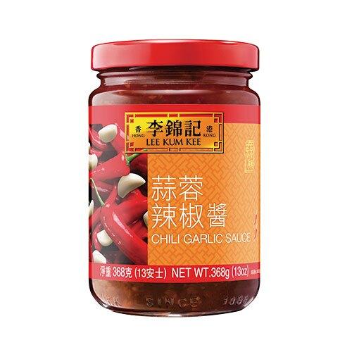 李錦記蒜蓉辣椒醬13OZ(368G)【愛買】