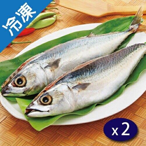 南方澳鹹鯖魚(350g5%)/尾X2【愛買冷凍】