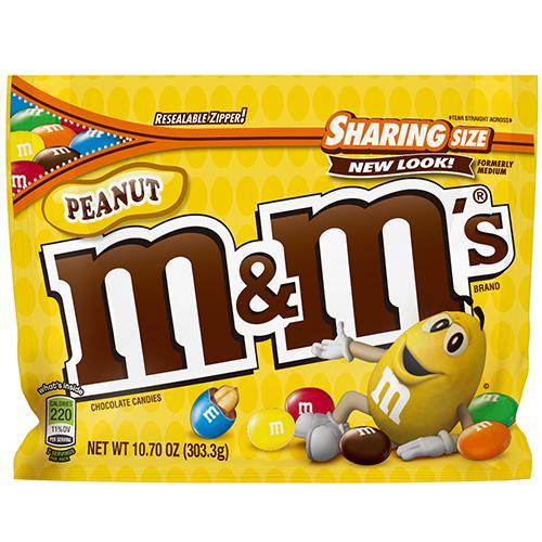 M&M'S花生巧克力303.3g【愛買】