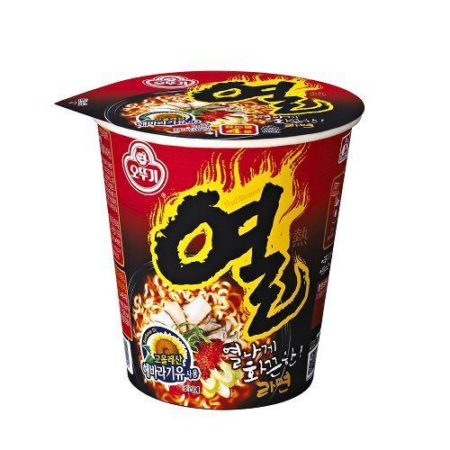 韓國不倒翁辛辣杯麵 62g【愛買】