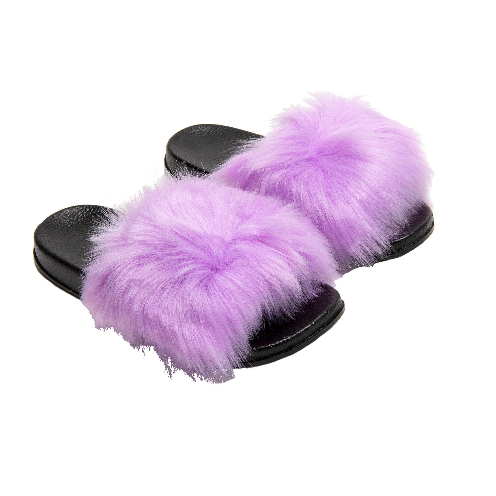 Fuzzy Slippers Size 39