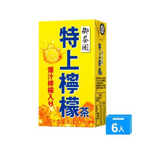 御茶園特上檸檬茶TP250ml*6【愛買】