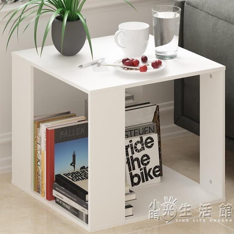 簡約現代小茶几沙發邊桌客廳小方桌迷你邊櫃邊幾臥室床頭桌角幾