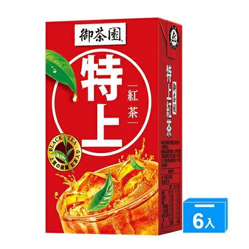御茶園特上紅茶250ml x 6【愛買】