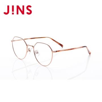 【JINS】 日本製鯖江職人手工眼鏡(AUTF20A061)玫瑰金