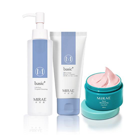 【未來美】毛孔速淨泥膜+肌本胺基酸潔顏乳+肌本保濕無油卸妝露