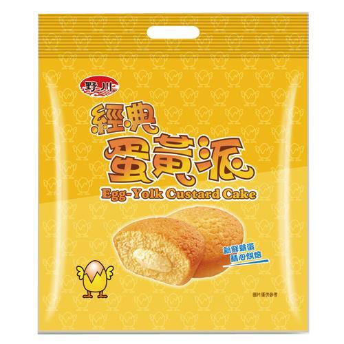 野川經典蛋黃派19gx15入【愛買】