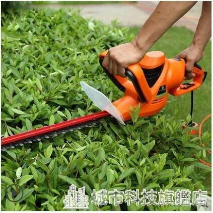 修枝剪 哈克電動綠籬修剪機修枝機綠化綠籬機插電式茶樹剪修枝機籬笆剪 DF