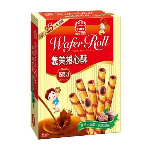 義美捲心酥巧克力198g【愛買】