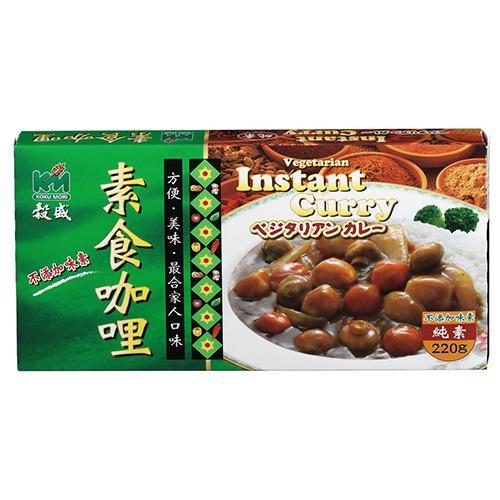 穀盛素食咖哩(紅麴添加)220g【愛買】