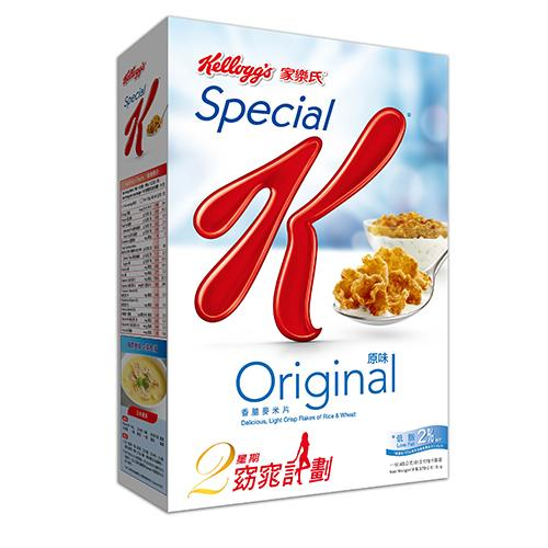 家樂氏SPECIAL K香脆麥米片370g【愛買】