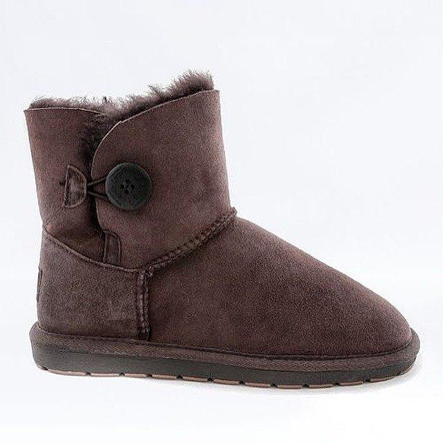 雪地靴採煤機澳大利亞單按鈕布朗