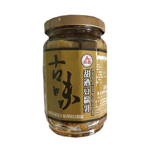 品香世家古味甜酒豆腐乳(非基改)380g【愛買】