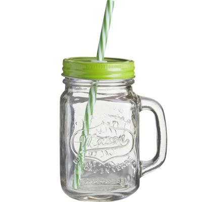 《Premier》梅森玻璃杯(奇異果450ml)