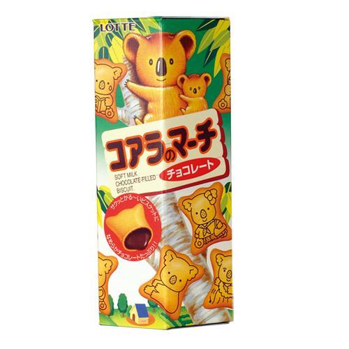 樂天小熊巧克力餅乾37g【愛買】