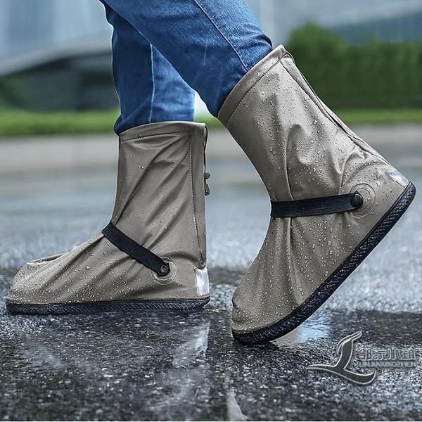 時尚雨靴套防水雨鞋女防水雨鞋防滑耐磨【邻家小鎮】