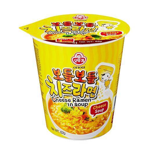 韓國不倒翁起司風味湯杯麵 62g【愛買】