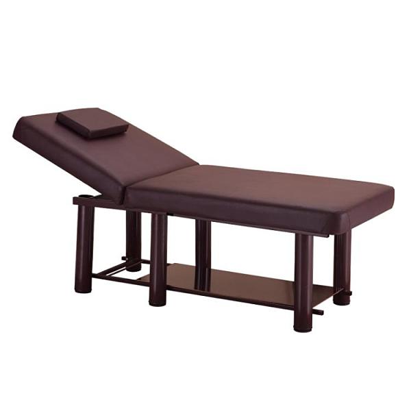 美容床 美容床折疊美容院專用按摩推拿床家用艾灸床理療床美體美婕紋繡床【快速出貨八折下殺】