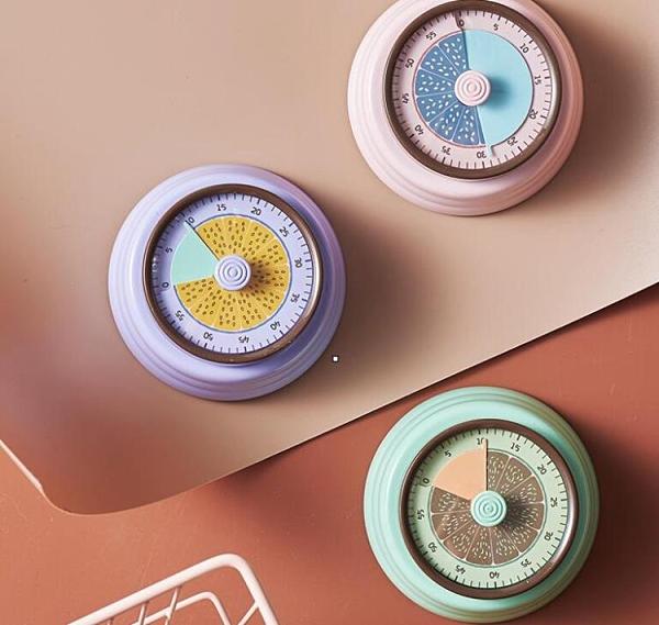 計時器 廚房用計時器定時器提醒冰箱貼磁鐵家用鬧鐘超大聲時間管理【快速出貨八折搶購】