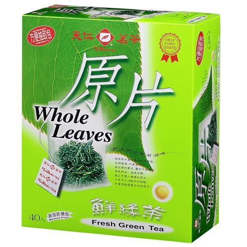 天仁原片-鮮綠茶40入/盒【愛買】