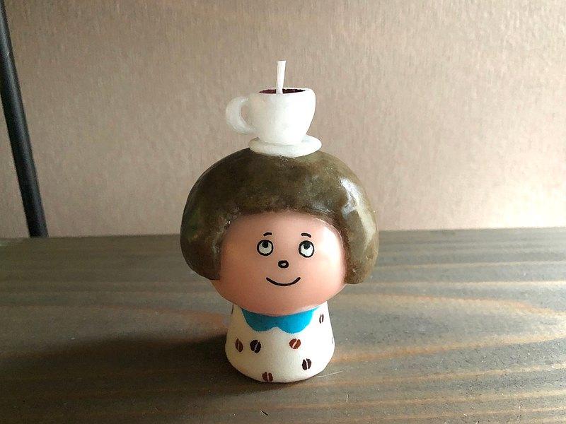 咖啡的女孩