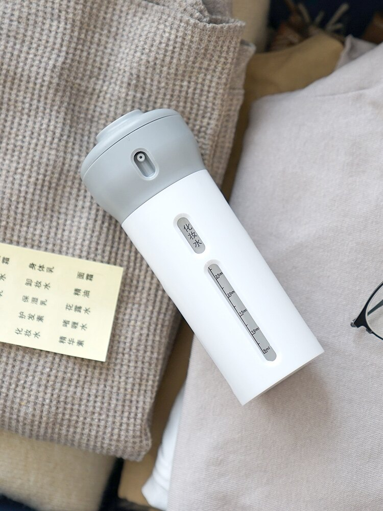 旅行四合一乳液分裝瓶套裝化妝品水乳旋轉擠壓式抖音同款旅游便攜1入