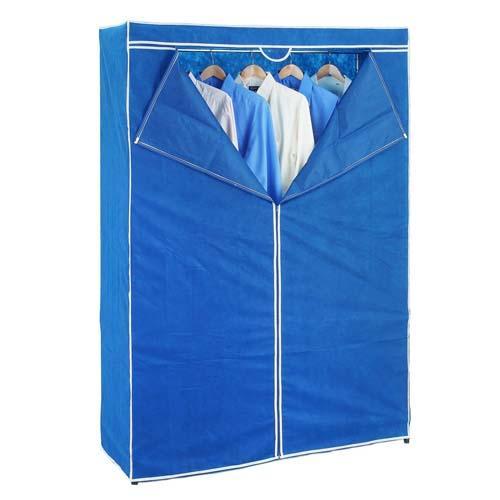 鐵力士衣櫥防塵套-藍【愛買】
