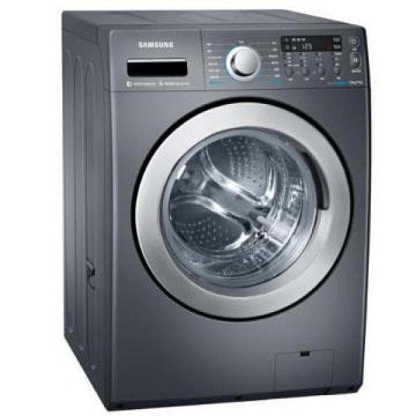 【南紡購物中心】SAMSUNG 三星 14公斤 滾筒洗衣機 WD14F5K5ASG/TW-靛藍黑