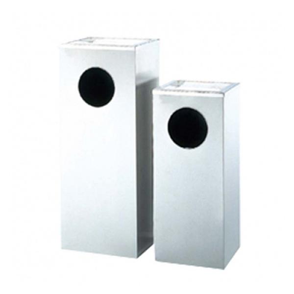 不鏽鋼菸灰缸垃圾桶 銀色(小) / 個 AT4-60