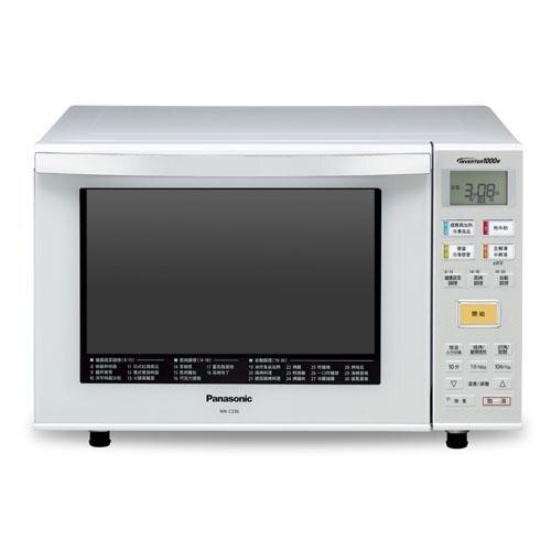 國際23L變頻烘燒烤微波爐NN-C236【愛買】