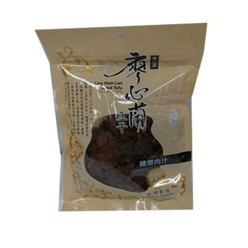 TW廖心蘭精燉肉汁豆干110g【愛買】