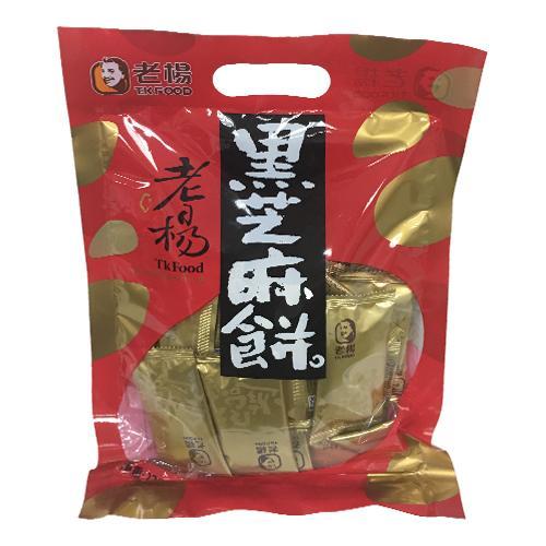 老楊黑芝麻餅230g【愛買】