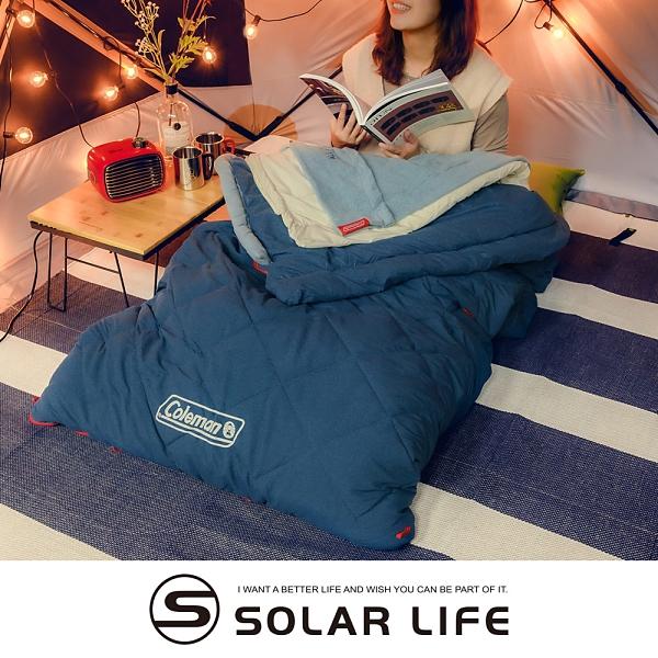Coleman 多層睡袋/CM-34777.信封型睡袋 分層睡袋 化纖露營睡袋 可機洗拼接 登山保暖睡袋