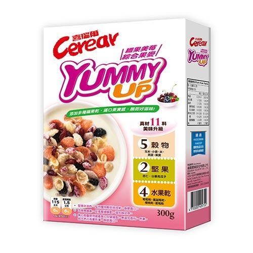 喜瑞爾纖果美莓綜合果麥300G【愛買】