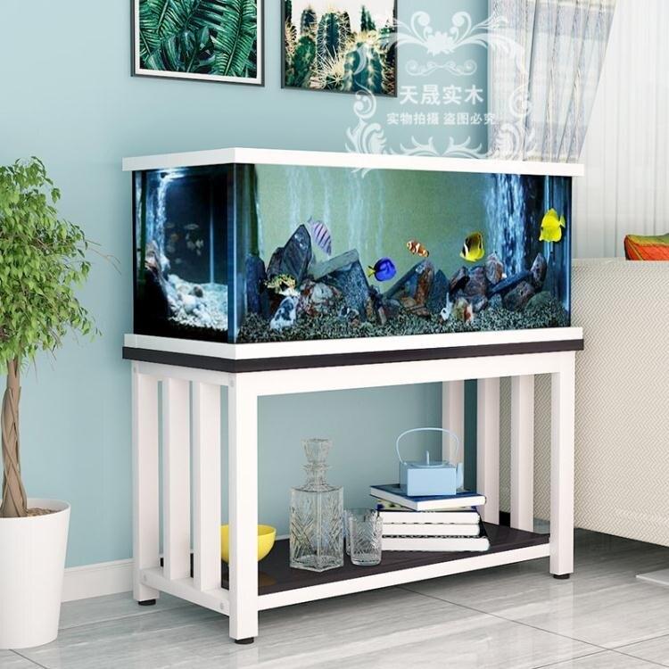 魚缸架 魚缸架子底櫃實木櫃子小型魚缸架底座水族箱底櫃定做魚缸架子底櫃T