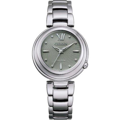 CITIZEN星辰L系列光動能時尚腕錶 EM0338-53H