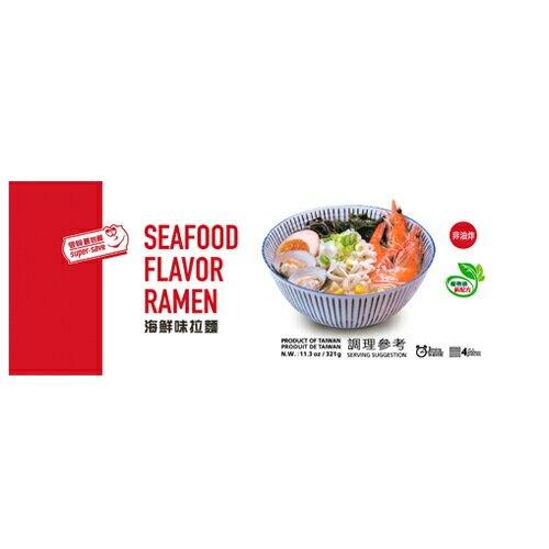 最划算海鮮風味拉麵321g【愛買】