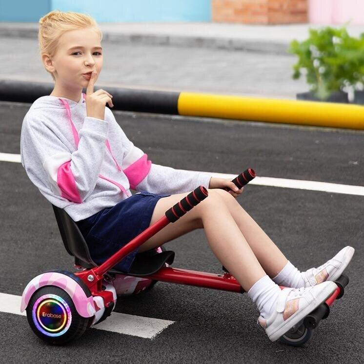 平衡車 智慧電動自平衡車雙輪兒童8-12成年兩輪代步平行車體卡丁車感漂移帶手扶桿YYP