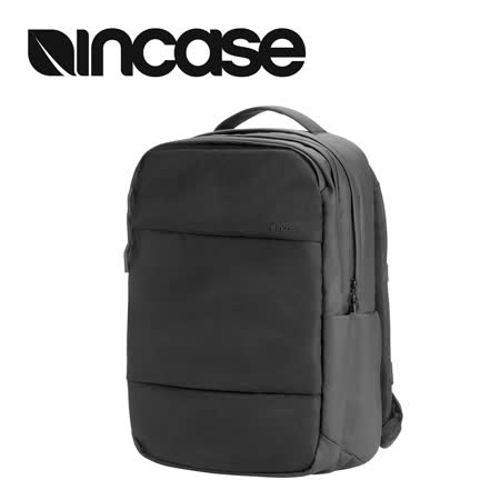 【INCASE】City Backpack with 1680D 16吋 雙層筆電後背包 (黑)
