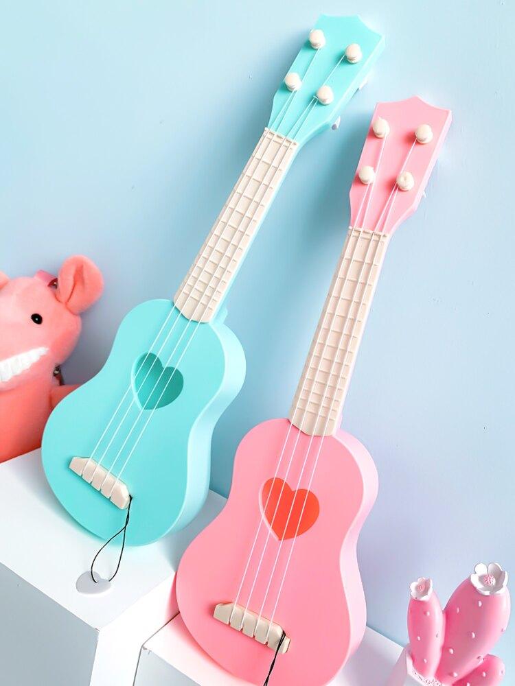 兒童吉他寶寶玩具抖音網紅 女孩迷你尤克里里男孩仿真樂器小提琴