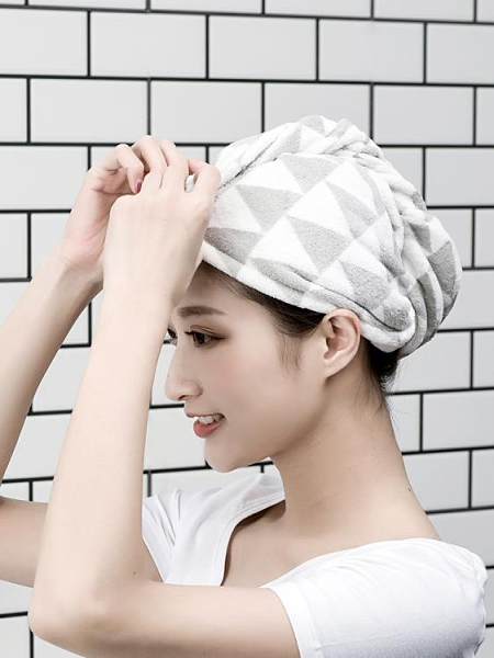 幹髮帽女擦洗頭發帽子超強吸水成人長發加厚家用速幹包頭幹幹幹優拓
