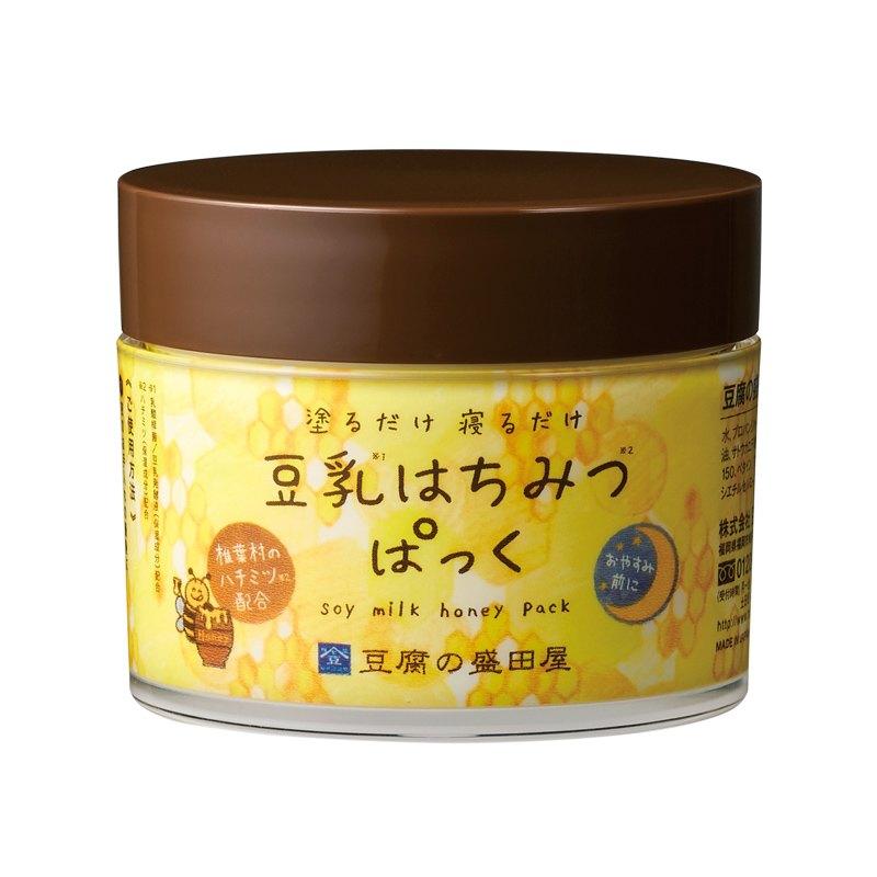 豆腐盛田屋 蜂蜜豆乳全效保濕凍膜50g 效期2021.08【淨妍美肌】