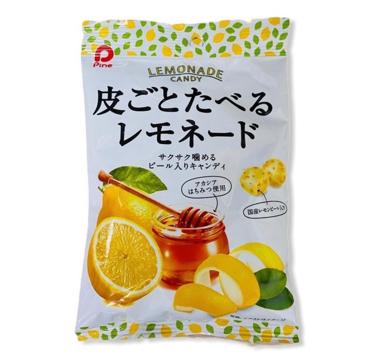 Pine派恩 帶皮檸檬蜂蜜糖 81g