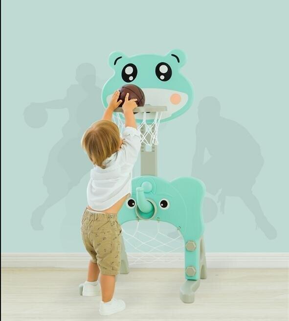 兒童籃球架子寶寶可升降投籃筐框家用室內小男孩玩具1-2-3-4周歲  雙12購物節 YTL 8號時光